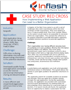 How Inflash Solved This Chapter of the Red Cross' Challenges